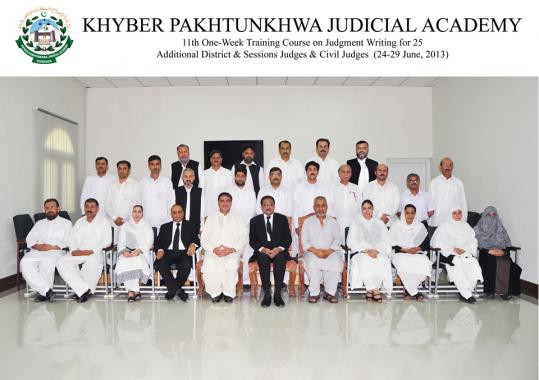 Concluding ceremoney of 11th Training on Judgement Writing for Additional District & Sessions Judges/ Civil Judges