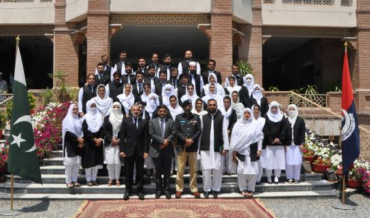 PST participants visit to CPO, Police Lines and School of Investigation
